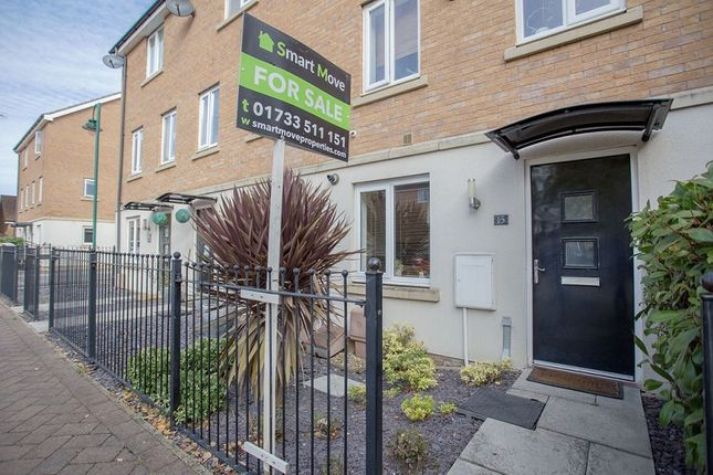 Thumbnail 4 bed town house for sale in Farrow Avenue, Hampton Vale, Peterborough, Cambridgeshire.