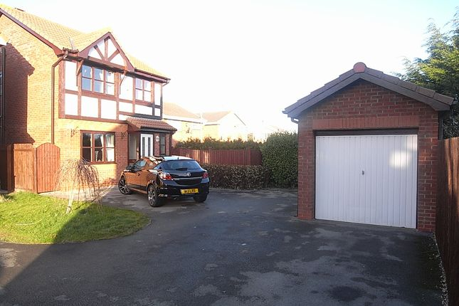 Thumbnail Detached house to rent in Walnut Crescent, Rhyl