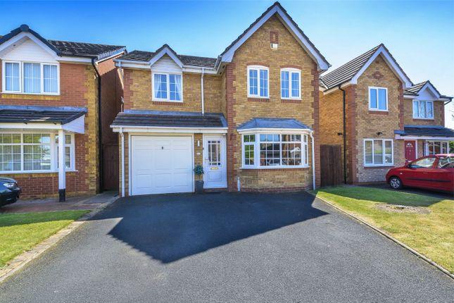 Thumbnail Detached house for sale in Bush Close, Wellington, Telford, Shropshire