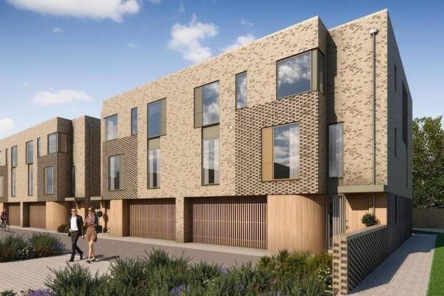 Thumbnail Town house for sale in The Cambridge At Great Kneighton, Long Road, Trumpington, Cambridge
