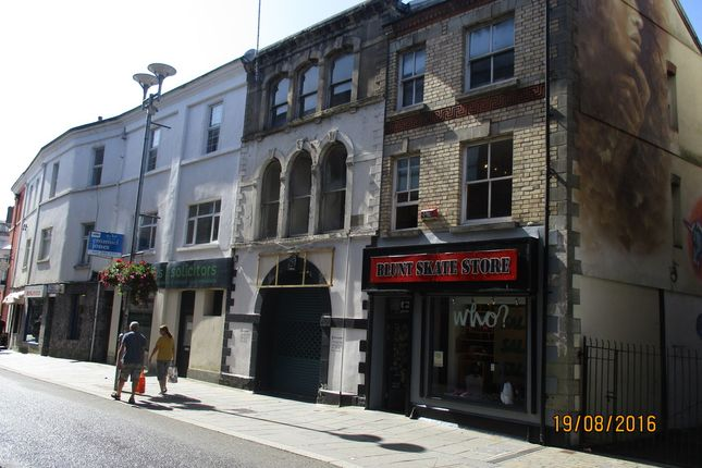 Thumbnail Office for sale in Attractive Three Storey Town Centre Property, 15 Market Street, Bridgend