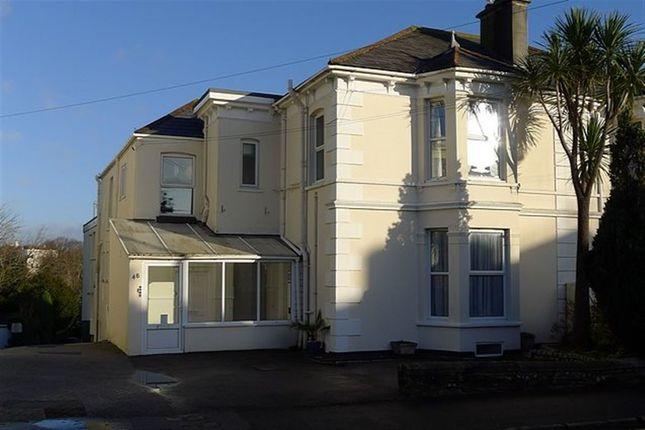 Thumbnail Flat to rent in 48 Melvill Road, Falmouth