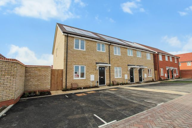 Thumbnail End terrace house for sale in Plough Lane, Houghton Conquest, Houghton Conquest
