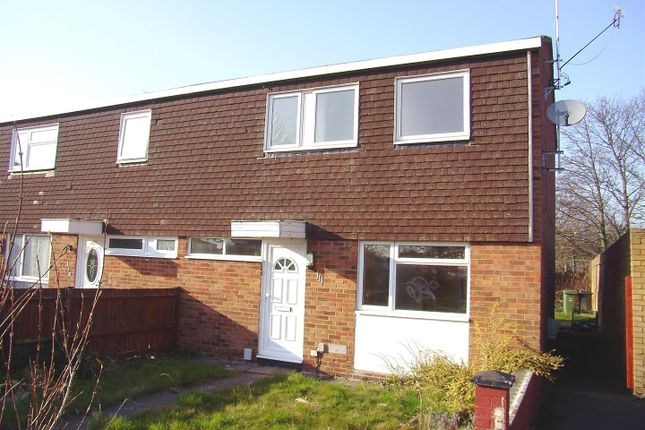 3 bed end terrace house to rent in Chelsea Gardens, Houghton Regis, Dunstable LU5