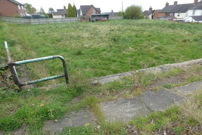 Thumbnail Land for sale in Clare Street, Mow Cop, Stoke-On-Trent