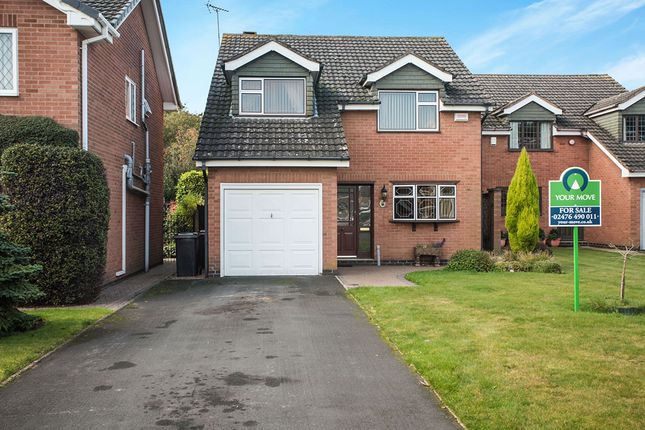 Thumbnail Detached house for sale in The Limes, Bedworth, Warwickshire