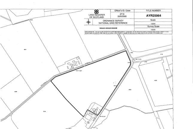 Thumbnail Land for sale in Laigh Logan Farm, Sorn