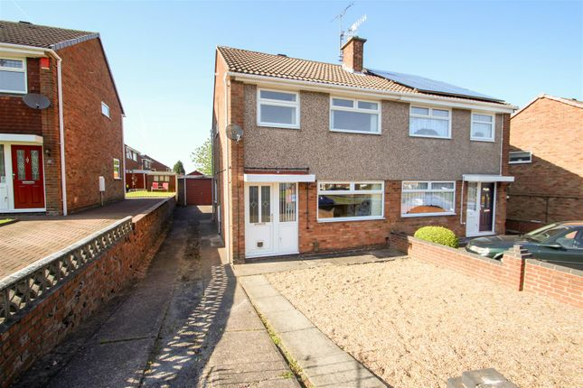 Thumbnail Semi-detached house to rent in Barncroft Road, Chell Heath, Stoke-On-Trent