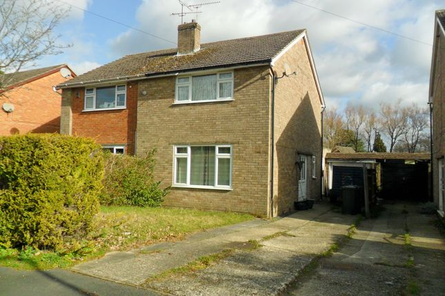Thumbnail Semi-detached house for sale in Horseshoe Crescent, Bordon