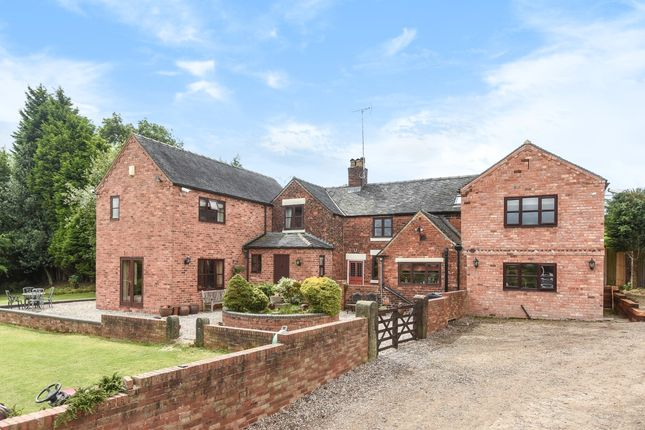 Thumbnail Detached house for sale in Horsley Woodhouse, Ilkeston