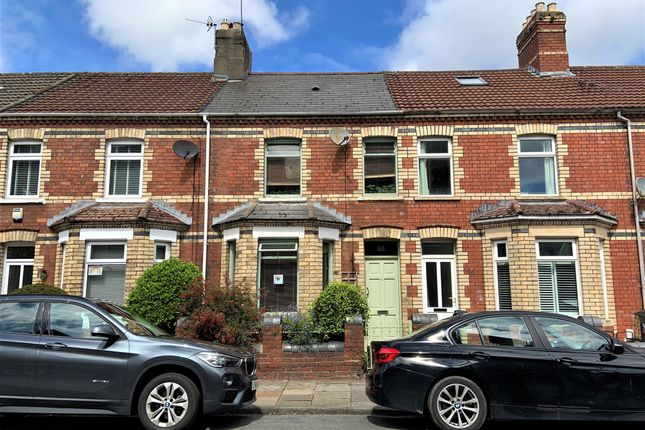 Thumbnail Terraced house for sale in Pembroke Road, Canton, Cardiff