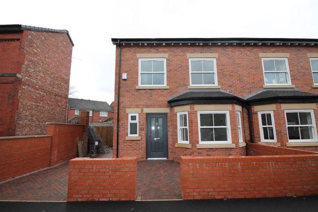 Thumbnail Semi-detached house for sale in Plot 1, Gloucester Road, Urmston