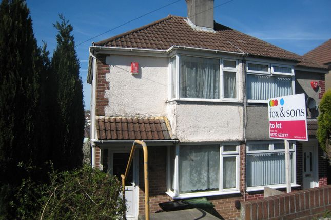 Thumbnail Property to rent in Cardinal Avenue, St Budeaux, Plymouth