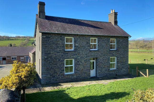 Thumbnail Farm for sale in Llangeitho, Tregaron