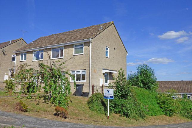 Thumbnail Semi-detached house for sale in Bramble Way, Common Road, Wincanton