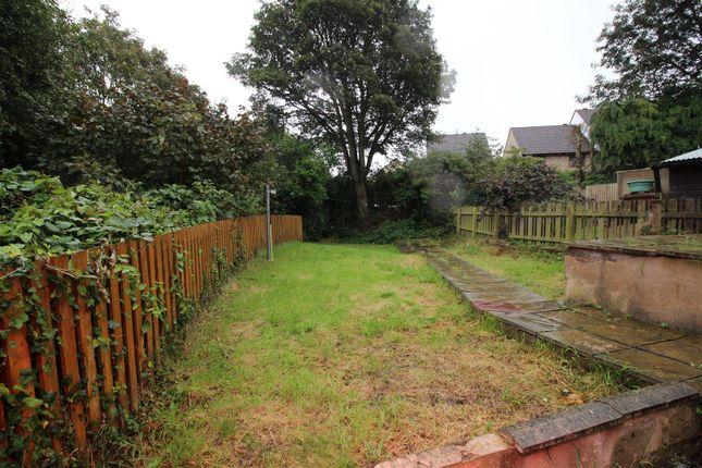 Rear Garden of Wharncliffe Crescent, Bradford BD2