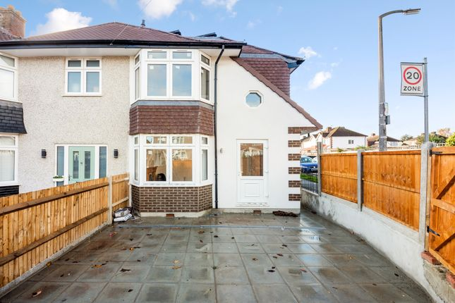 Thumbnail End terrace house for sale in Henley Avenue, Cheam, Sutton