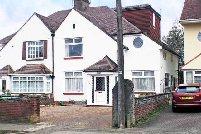 Thumbnail Semi-detached house for sale in Pwllmelin Road, Fairwater, Cardiff