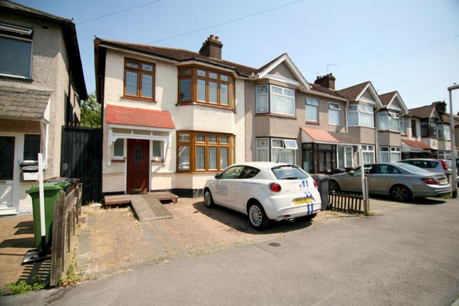 3 bed semi-detached house to rent in Wadeville Avenue, Chadwell Heath, Romford