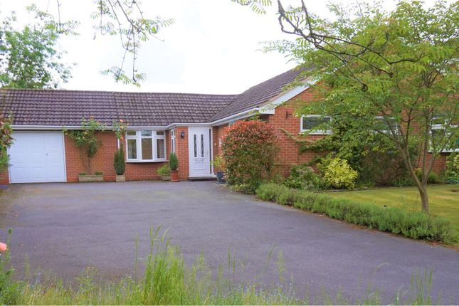 Thumbnail Detached bungalow for sale in Abbots Close, Solihull