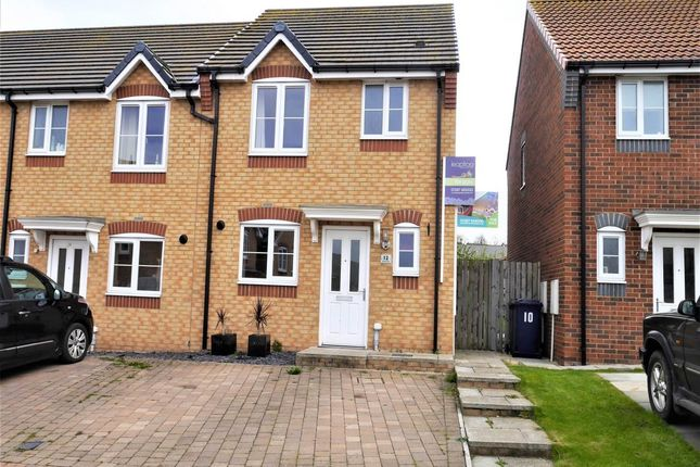 Thumbnail Semi-detached house to rent in Stratton Close, Brotton, Saltburn By The Sea