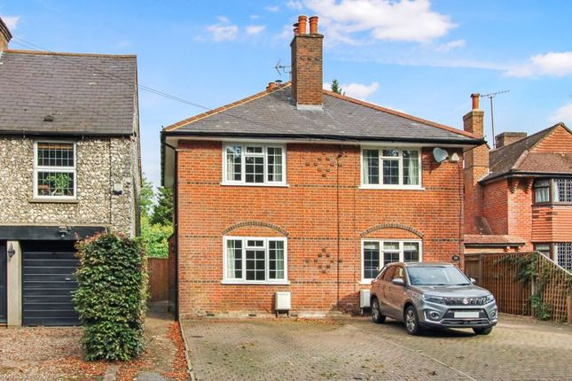 Thumbnail Semi-detached house for sale in Amersham Road, Hazlemere, High Wycombe