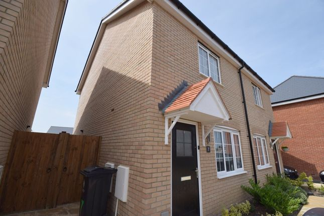 2 bed semi-detached house to rent in Chaplin Road, Thorpe Le Soken CO16