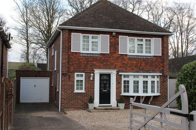 Thumbnail Detached house for sale in Queens Road, Fleet, Hampshire