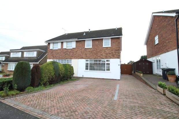 3 bed semi-detached house to rent in Dingle Road, Rushden NN10