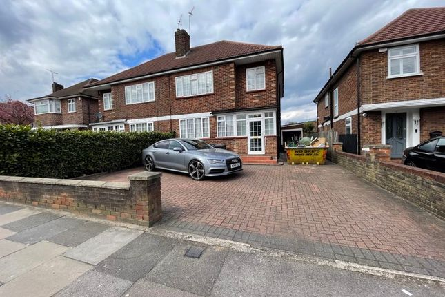 Thumbnail Semi-detached house to rent in Hale Lane, Edgware