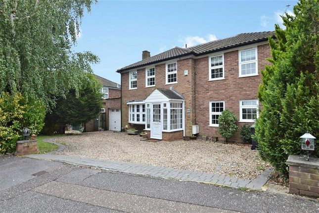 Thumbnail Detached house for sale in Theydon Place, Epping, Essex