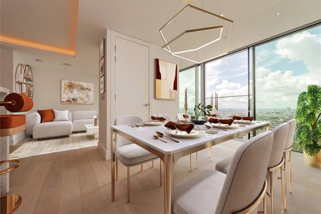 Thumbnail Flat for sale in Carrara Tower, 250 City Road