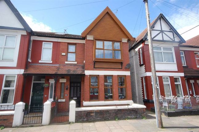 Thumbnail Semi-detached house to rent in Sefton Road, Wallasey, Merseyside
