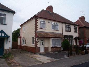 Thumbnail Semi-detached house to rent in Brookdale Road, Weddington, Nuneaton