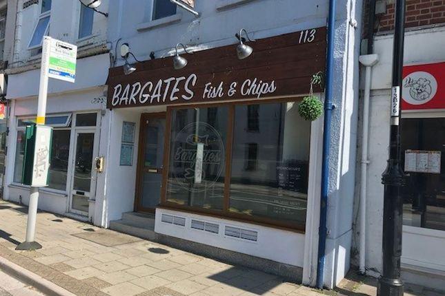 Restaurant/cafe for sale in Bargates, Christchurch