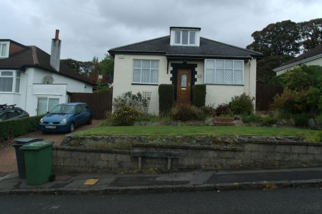 Thumbnail Bungalow to rent in Killermont Road, Bearsden, Glasgow