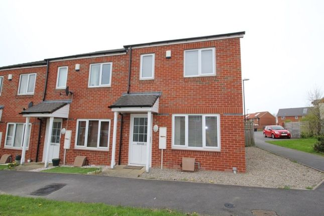 Thumbnail Semi-detached house for sale in Newtonmore, Beckwith Green, Sunderland