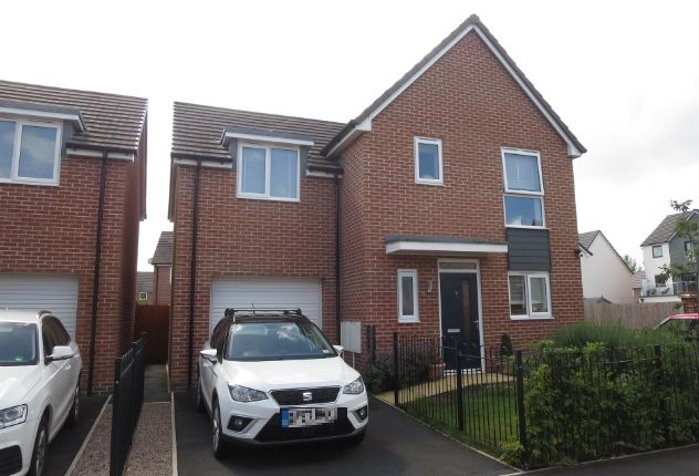 Thumbnail Detached house for sale in James Grundy Avenue, Trentham Manor, Stoke-On-Trent