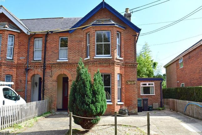 Thumbnail Semi-detached house for sale in Lane End, Bembridge, Isle Of Wight