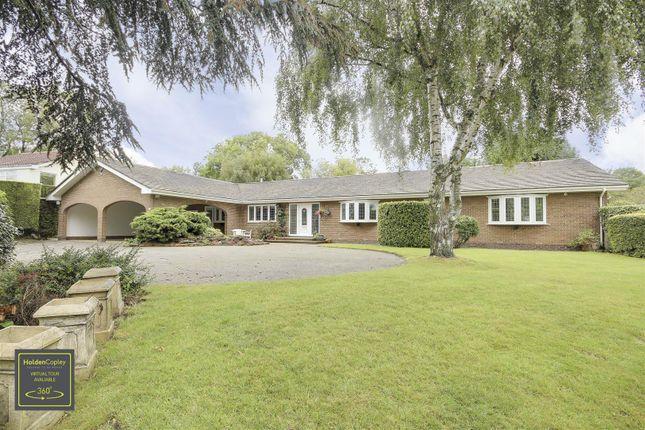 Thumbnail Detached bungalow for sale in Hillcrest Gardens, Burton Joyce, Nottinghamshire