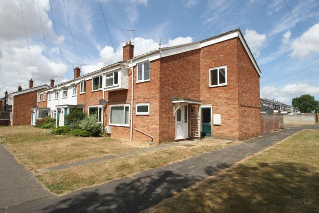 Thumbnail End terrace house for sale in Ormesby Road, Raf Coltishall, Norwich