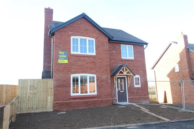Thumbnail Detached house for sale in The Radley - Hopton Park, Nesscliffe, Shrewsbury