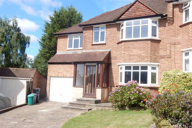 Thumbnail Semi-detached house to rent in Abbots Green, Croydon
