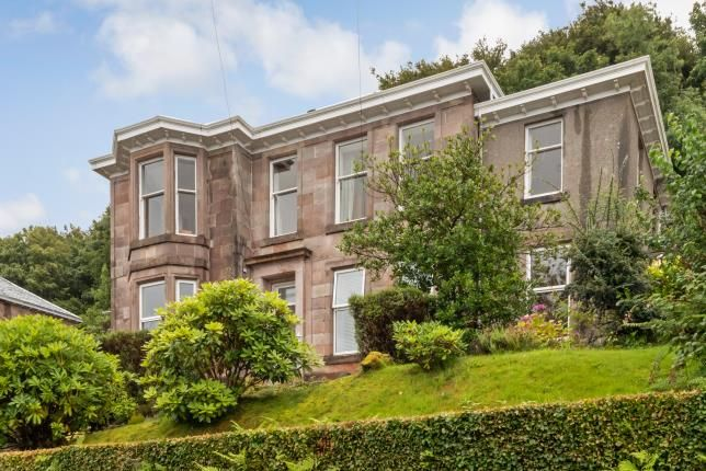 Thumbnail Flat for sale in Barrhill Road, Gourock, Inverclyde