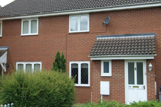 Thumbnail Terraced house to rent in Dart Close, St. Ives, Huntingdon