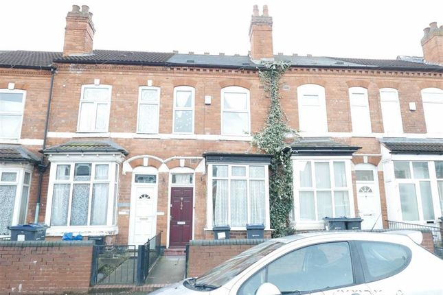 Thumbnail Terraced house to rent in Hamilton Road, Handsworth, Birmingham