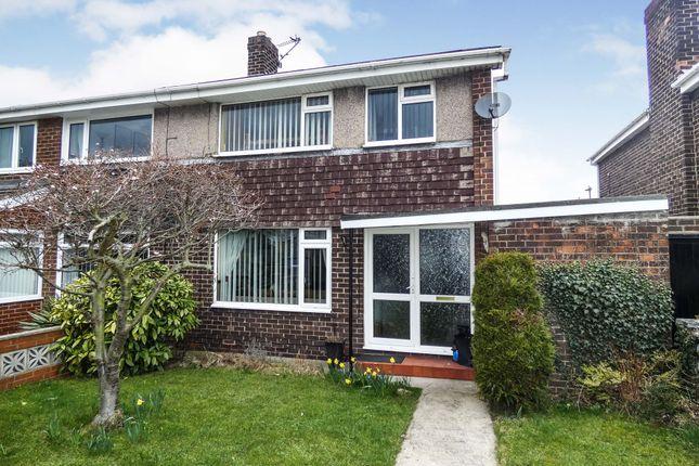 Thumbnail Semi-detached house for sale in Hendon Gardens, Jarrow