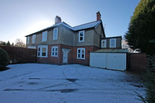 Thumbnail Semi-detached house for sale in The Beeches, Ponteland, Newcastle Upon Tyne