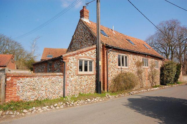3 bed barn conversion for sale in The Street, Kettlestone, Fakenham