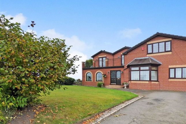 Thumbnail Detached house for sale in Knowlbank Road, Audley, Stoke-On-Trent